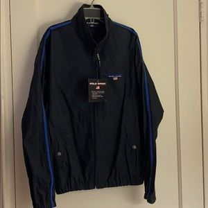 NWT Polo Sport Ralph Lauren navy light jacket
